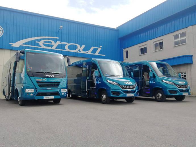 Ferqui entrega tres unidades al grupo Linecar