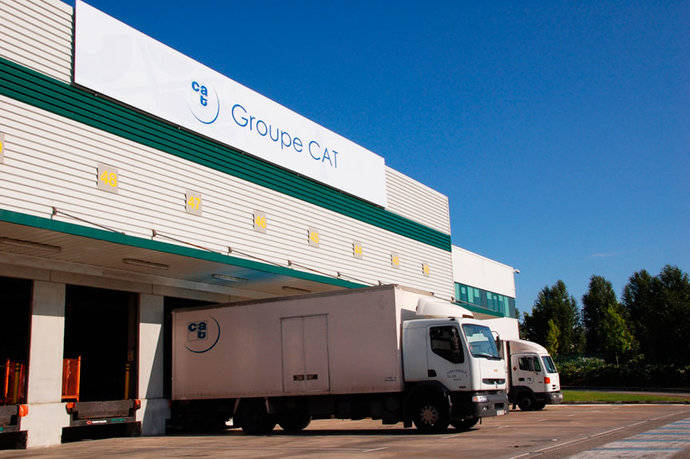 El Grupo CAT asume la logística de Recambios Frain