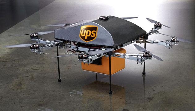 UPS y CyPhy realizan pruebas con drones para entregas urgentes