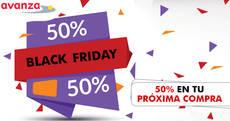 Avanza se une al 'black friday' con descuentos del 50%