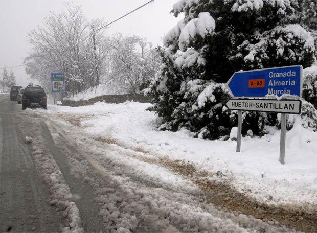 Fomento pone en marcha la campaña de vialidad invernal