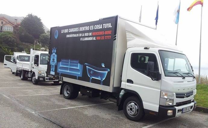 FUSO ya funciona perfectamente dentro del paraguas de Mercedes-Benz España (I)