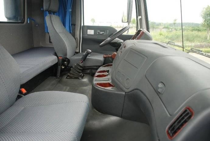 Una cabina de camión.