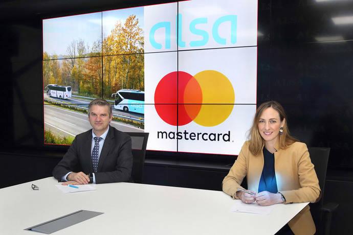 Mastercard y Alsa se alían para digitalizar los medios de pago en el transporte público