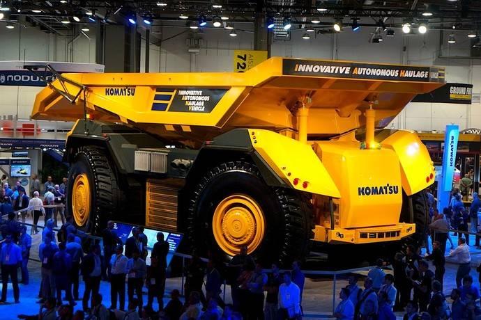 La minería apuesta fuerte por camiones autónomos