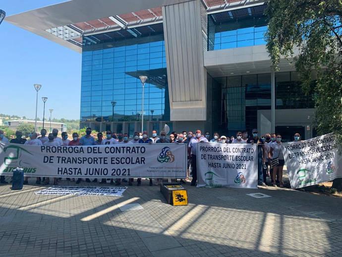 Éxito del transporte andaluz: se prorrogan los contratos escolares