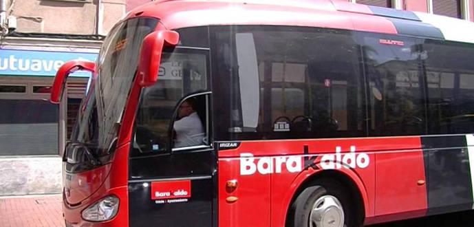 El transporte público de Barakaldo se pone en marcha