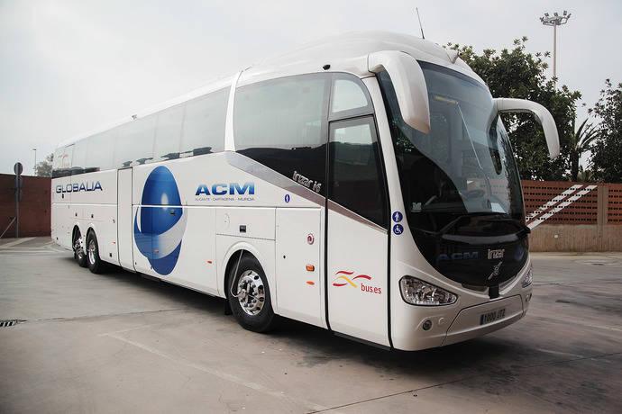 Globalia comienza a operar su primera línea, Alicante‐Cartagena‐Murcia