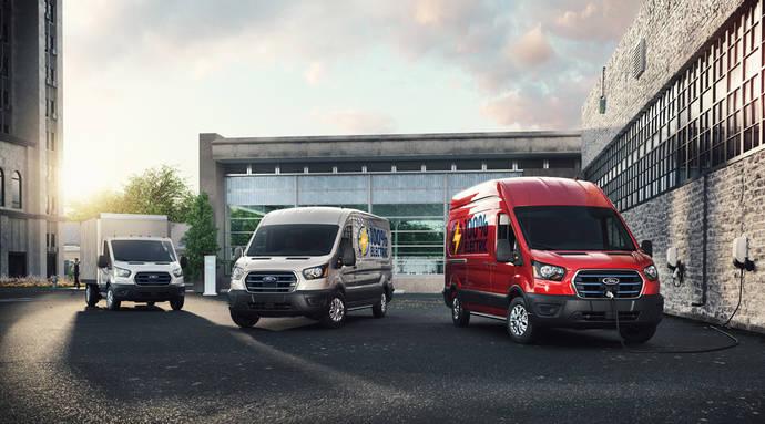 Ford pone de largo su e-Transit, que llegará al mercado en primavera de 2022