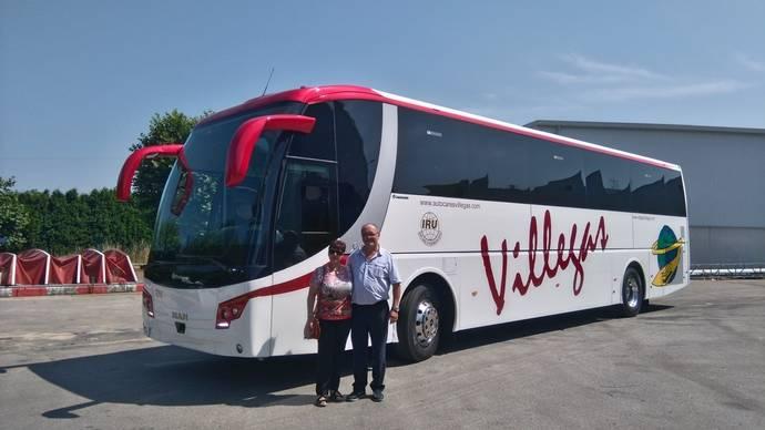 Autocares Villegas engrosa su flota con un Stellae de Grupo Castrosua
