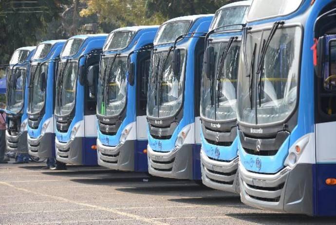 Las matriculaciones de autobuses cayeron un 8,2% en el mes de enero