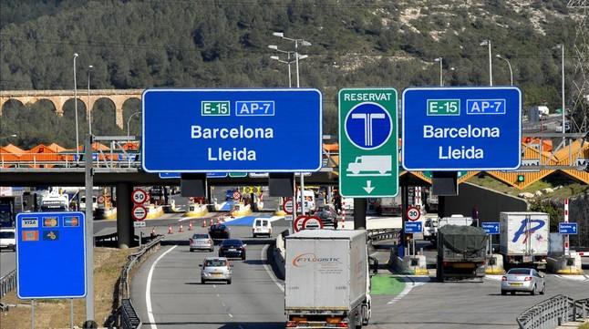 ERC pide aumentar bonificaciones a transportistas obligados a utilizar las autopistas AP-7 y AP-2