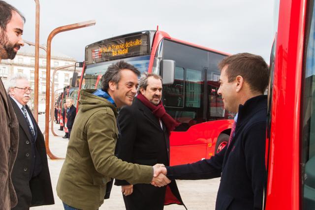 A Coruña cambiará el mapa de líneas de su autobús urbano