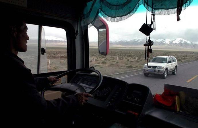 Reconocimiento facial para controlar a los conductores, en China