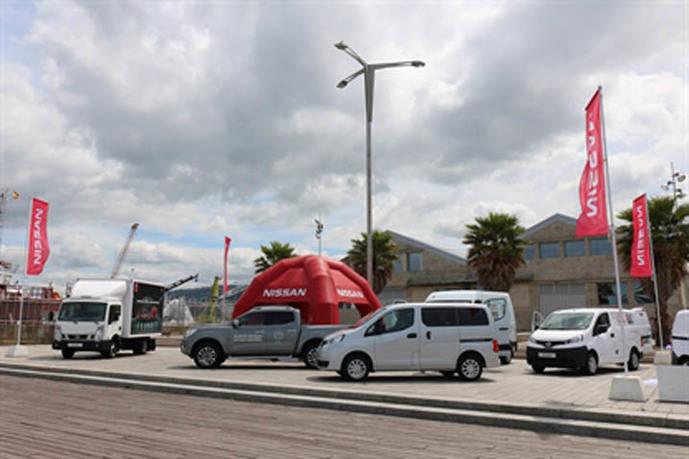 Los vehículos comerciales de Nissan, presentes en la 1ª Feria del Vehículo Comercial de Galicia