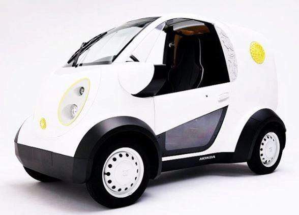 Lo último de Honda: un mini eléctrico imprimible en 3D