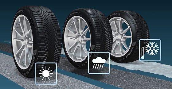 Amda recomienda la utilización de los neumáticos 'all season'
