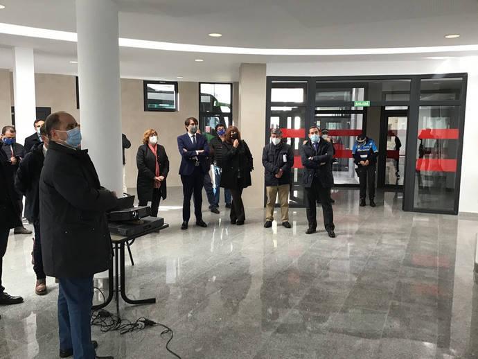 La Junta finaliza las obras de reforma de la estación de autobuses de Béjar