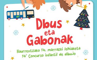 Vuelve al concurso navideño de dibujo de Dbus