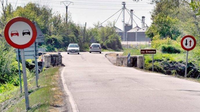 Castilla y León invierte 2,2 millones de euros en obras de carreteras