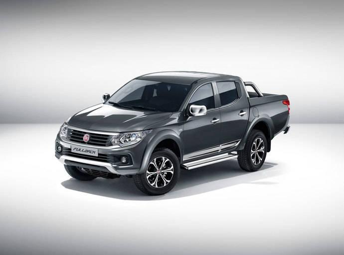 El Fiat Fullback debuta en el Salón de Dubái