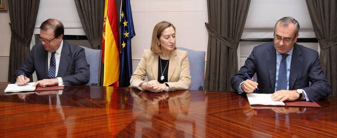 Firma del acuerdo de financiación del Fondo Financiero de Accesibilidad Terrestre Portuaria