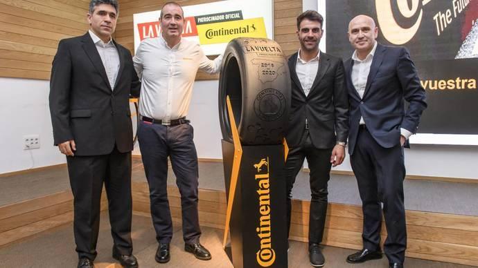 Continental reafirma su compromiso con La Vuelta a España