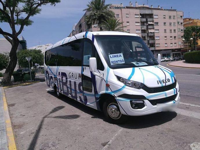 La línea de autobús Pedrera-Montgó se pone en marcha el 7 de mayo