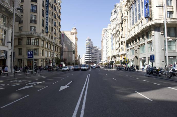 Sentencia judicial contra Madrid por el cierre de la Gran Vía en Navidad