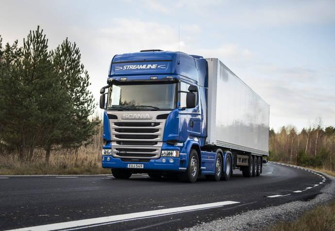 Scania a la cabeza del mercado en el mercado de las 16 toneladas