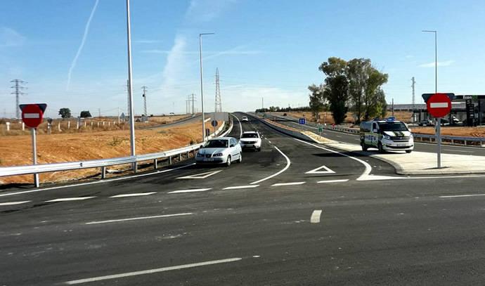 Entran en servicio dos carriles por sentido en la carretera A-392
