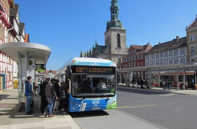 KVG Braunschweig convierte parte de su flota en eléctrica