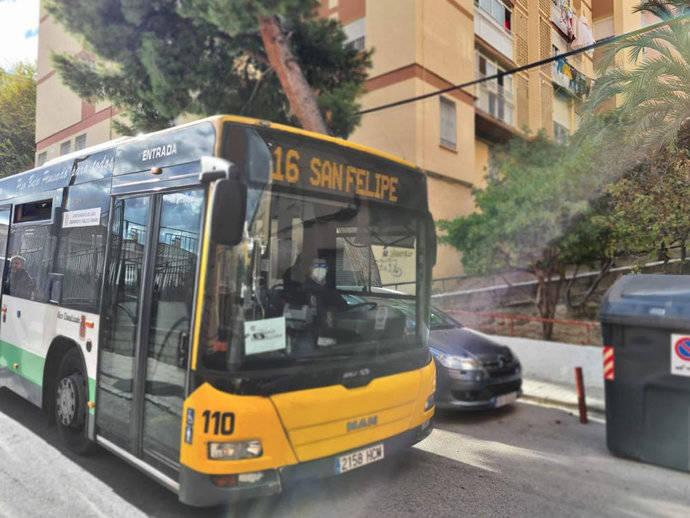El Ayuntamiento de Jaén adapta el servicio de transporte urbano