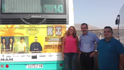 Fuerteventura ofrece servicios especiales en fiestas