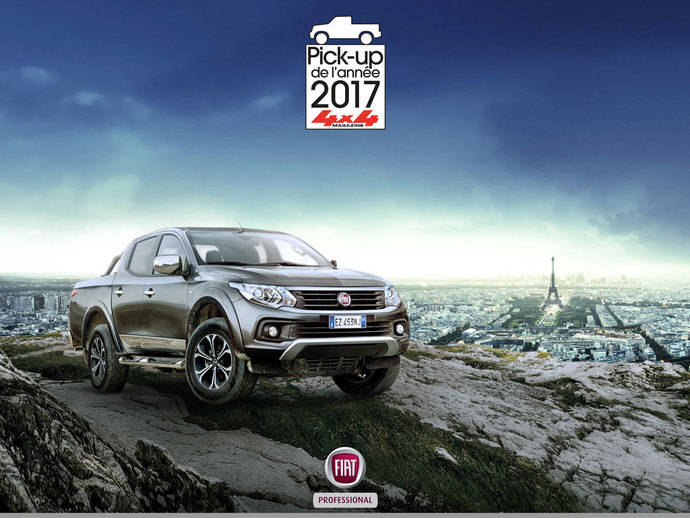 El Fiat Fullback es elegido 'Pick-up del Año 2017'