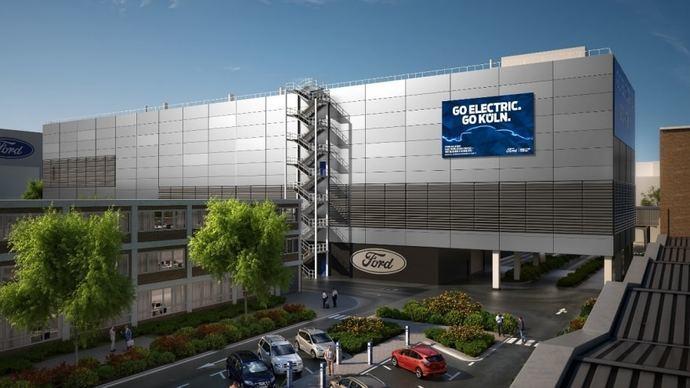 Ford comienza las obras de su Centro de Electrificación