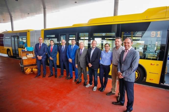 Guaguas Municipales presenta 14 nuevos articulados