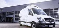Kuehne + Nagel colabora con Mercedes-Benz Vans desde hace 15 años.