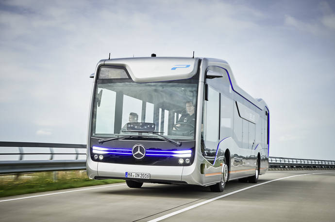 El nuevo Mercedes-Benz Future Bus con CityPilot revoluciona la movilidad