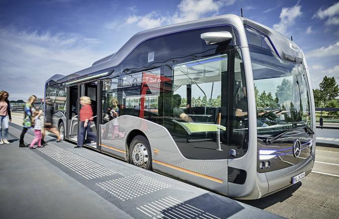 Mercedes Benz Future Bus obtiene el Premio Internacional Sostenibilidad 2017