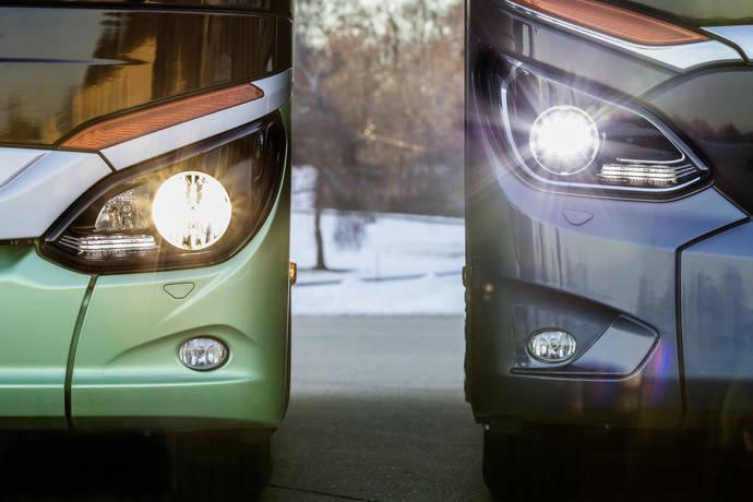 4000 lámparas LED para el TopClass 500 y el Citaro