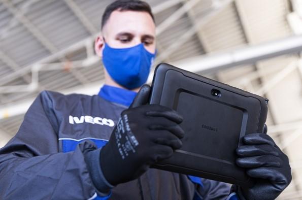 Iveco avanza su transformación digital con Samsung y CAR