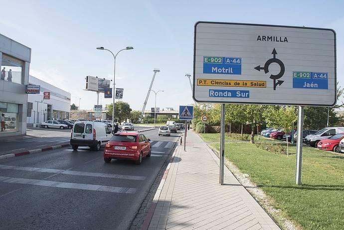 Fomento somete a información pública el Tramo Urbano de la A-44 en Armilla