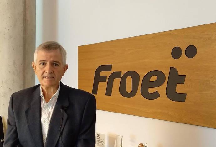 Pedro Díaz, presidente de Froet.