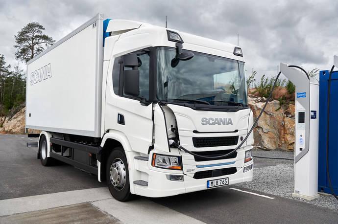 Scania presenta su primera gama de camiones eléctricos