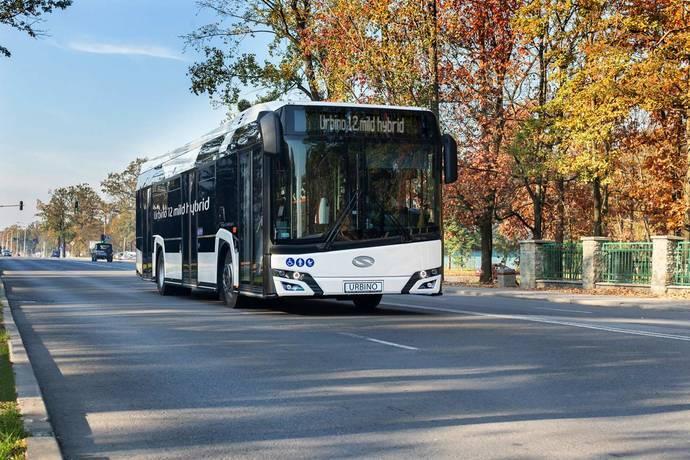 Solaris incorpora nueva hibridación al Urbino