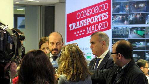El uso del transporte público en Madrid crece en Navidad un 4% respecto a 2015