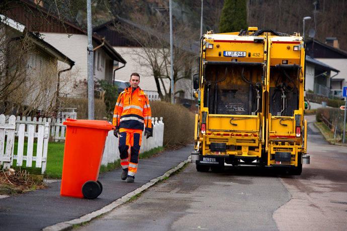 Volvo y la recogida de residuos