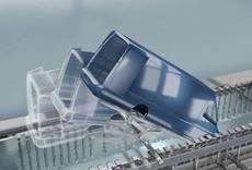 Mercedes-Benz Vans prueba el sistema optimo de inmersión para furgonetas del Grupo Dürr