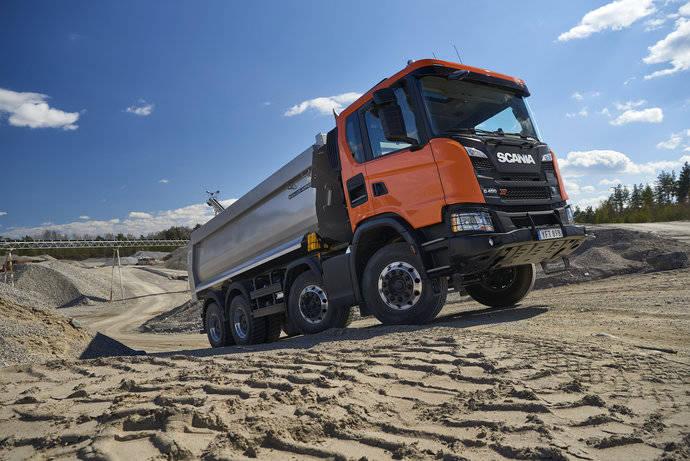 Scania apuesta fuerte por el segmento de la construcción
